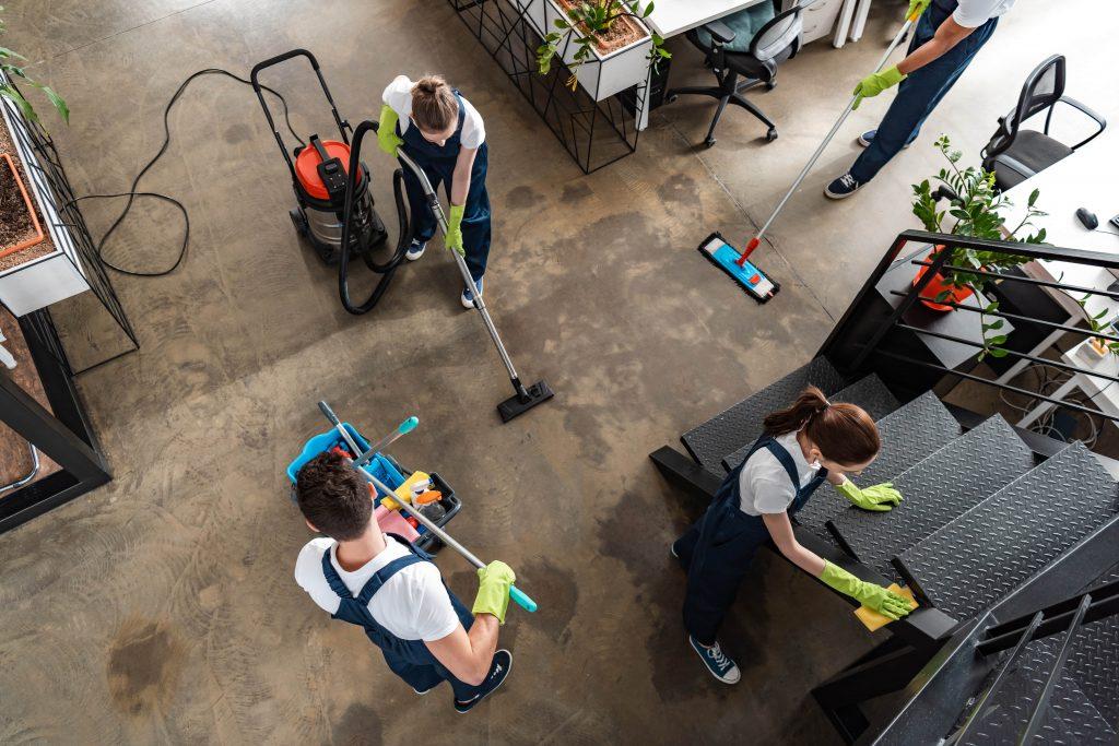 como limpiar un taller