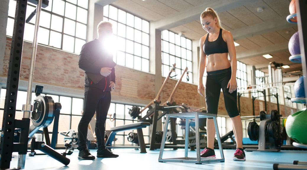 mujer entrenamiento personal