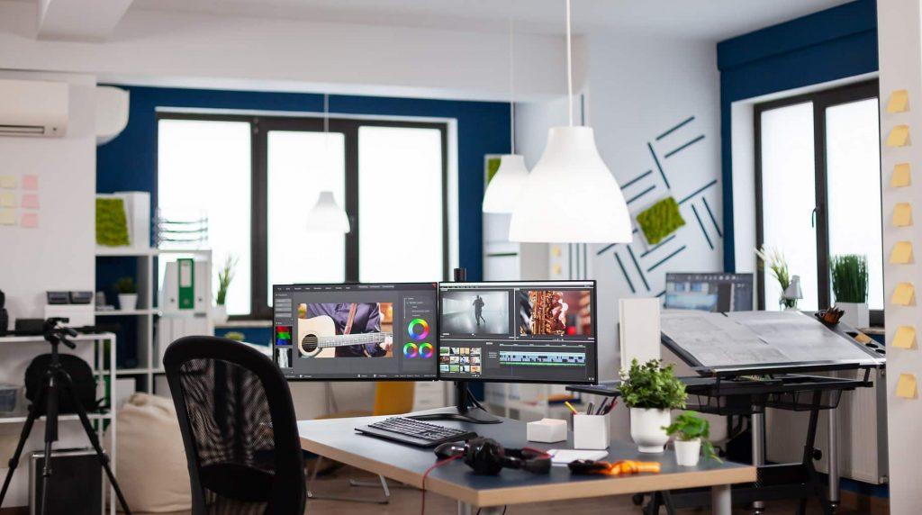 ejemplo de oficina de agencia