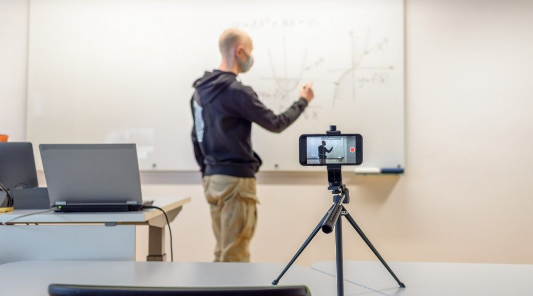 grabar profesores online